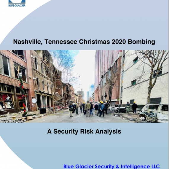 Blue Glacier Nashville Bombing Report Cover